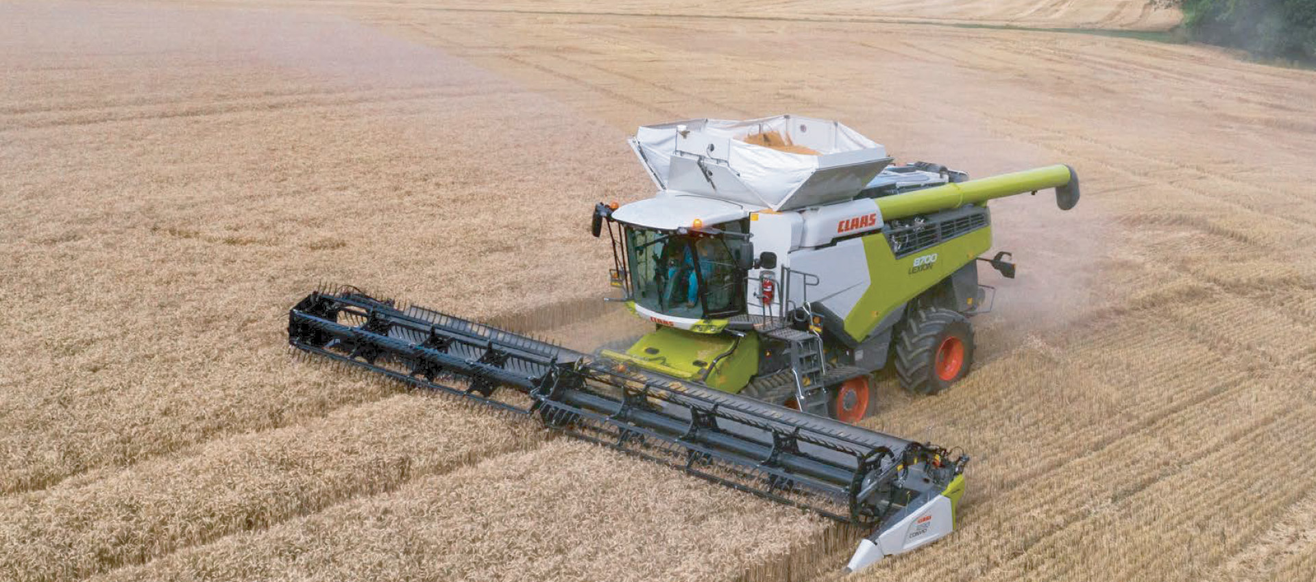 Save today. Pay later | Reserve your new 2022 CLAAS combine today | Learn more